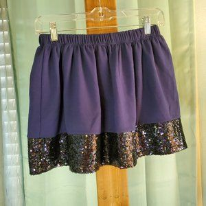 Vineyard Vines  NWT Girls Sequin Band Party Skirt